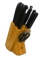 Knife Block with Euro Culinary� Series Knives