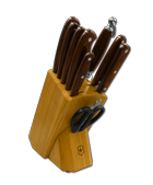 Knife Block with Full Tang Winewood Ergo Plus � Series Knives