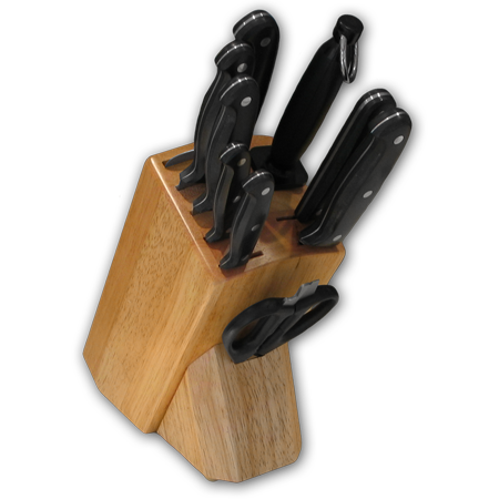Knife Block with Full TangPOM Ergo Plus™ Series Knives