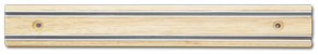 "12"" Knife Magnet Bar, Wood"
