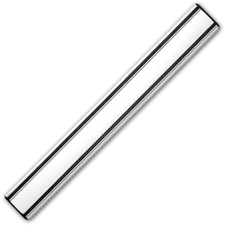 "13¾"" Knife Magnet Bar, Silver Aluminum"