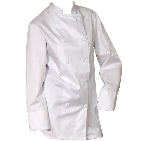 Chef Jackets with Buttons, 65% Polyester/35% Cotton, CJ-5300