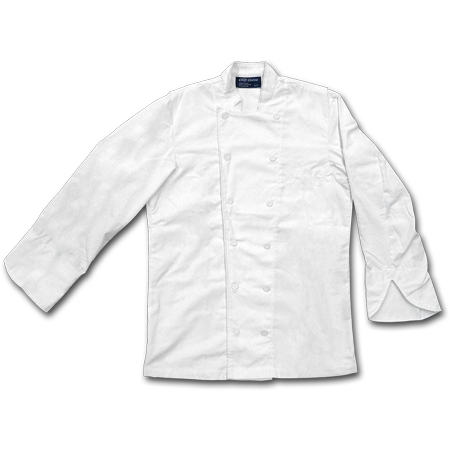 Chef Jacket with Mesh, 65% Polyester/35% Cotton