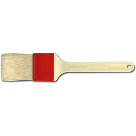 "2"" Pastry Brush, Natural, 6.0 cm, Long Bristles"