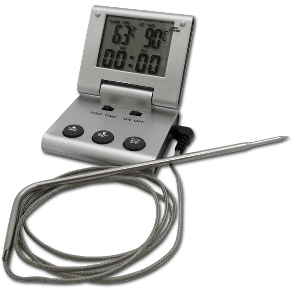 Remote Probe Digital Thermometerwith Timer