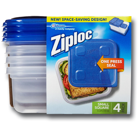 Ziploc Pack Small Square